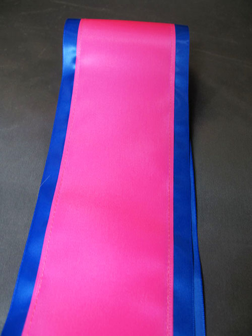 Rainbows End Blank Sashes3 - $17 Blank Economy All Occasion Sash with Satin Border