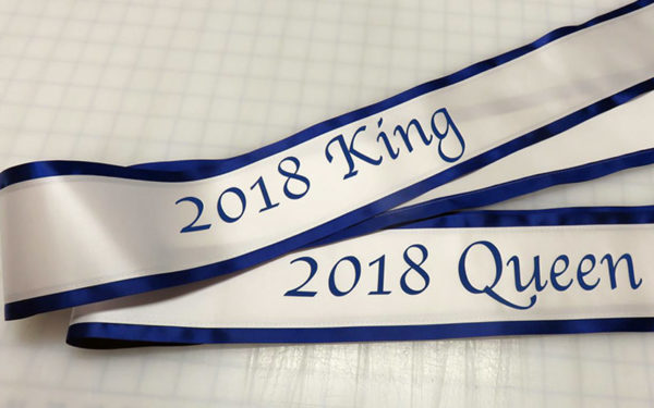 Economy 600x375 - $26 Lettered Economy All Occasion Sash With Satin Border