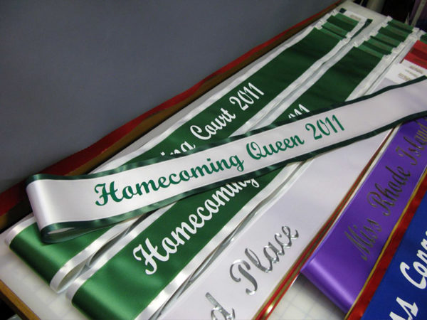 custom sash 5 600x450 - $26 Lettered Economy All Occasion Sash With Satin Border