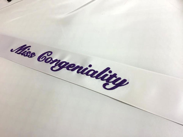 Basic Embroidered Sash 600x449 - Basic Chain Stitch Embroidered Sash