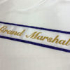 Basic Embroidered Sash With Border 100x100 - $99 Classic Chain Stitch Embroidered Sash