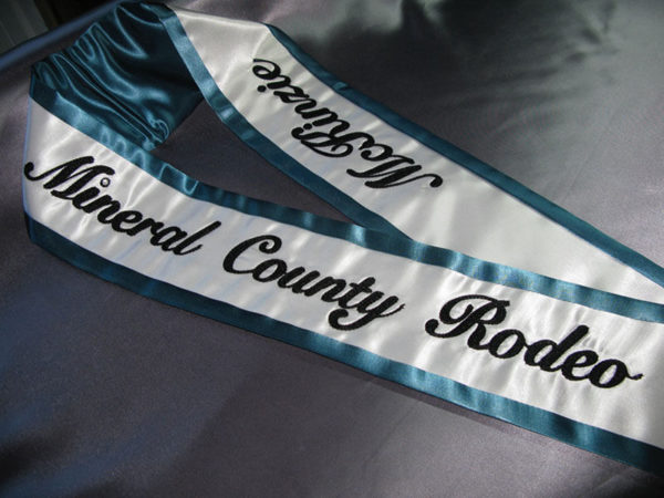 Classic Embroidered Sash2 600x450 - $99 Classic Chain Stitch Embroidered Sash