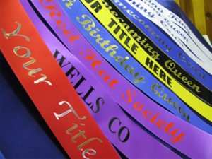 Economy Lettered All Occasion Sash2 300x225 - Rainbows End Sashes