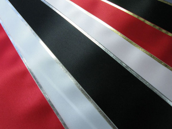 Silver and Gold Sashes