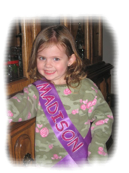child sash - $7 Blank Economy All Occasion Sash