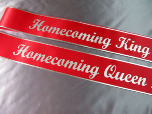 AOE1 300x225 - $19 Lettered Economy All Occasion Sash With Silver or Gold Edging