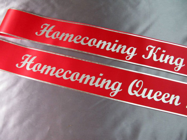 AOE1 600x450 - $19 Lettered Economy All Occasion Sash With Silver or Gold Edging