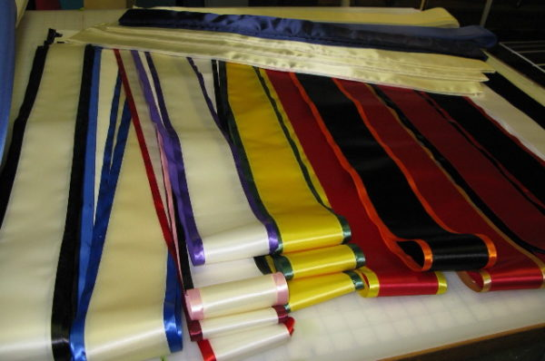 BLAOB 600x398 - $17 Blank Economy All Occasion Sash with Satin Border